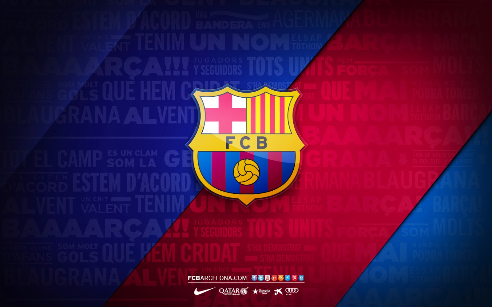 IDN FOOTBALLCLUB WALLPAPER Barcelona Football Club Wallpaper