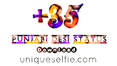 punjabi selfie status for fb | selfie punjabi status download