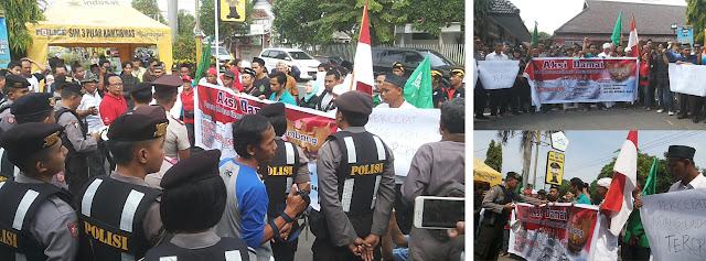 Gelar Aksi Damai Peringati Harlah Pancasila, Massa FKMJ Dukung Pengesahan Revisi UU Anti Terorisme