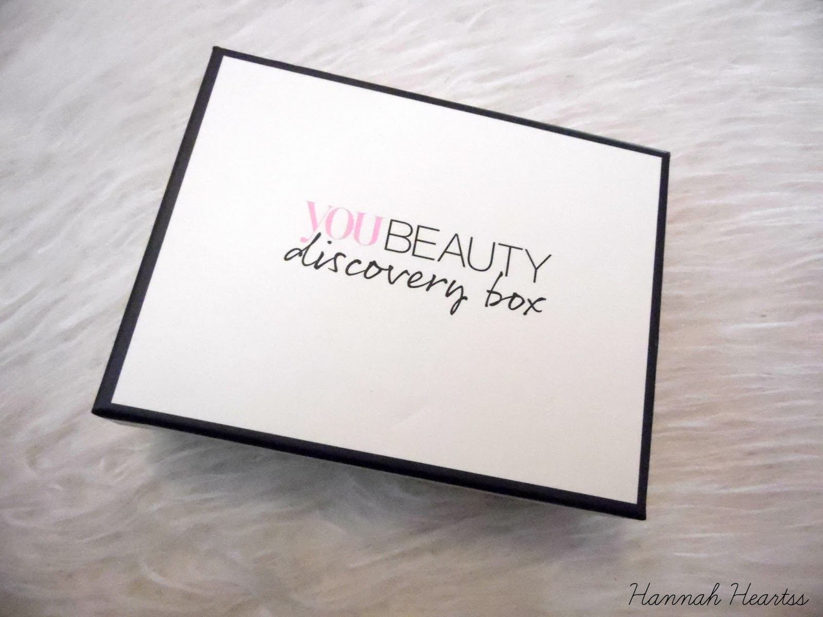You Beauty Discovery Box September 2014
