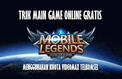 Cara Main Game Mobile Legend Dengan Kuota Videomax Work 2018