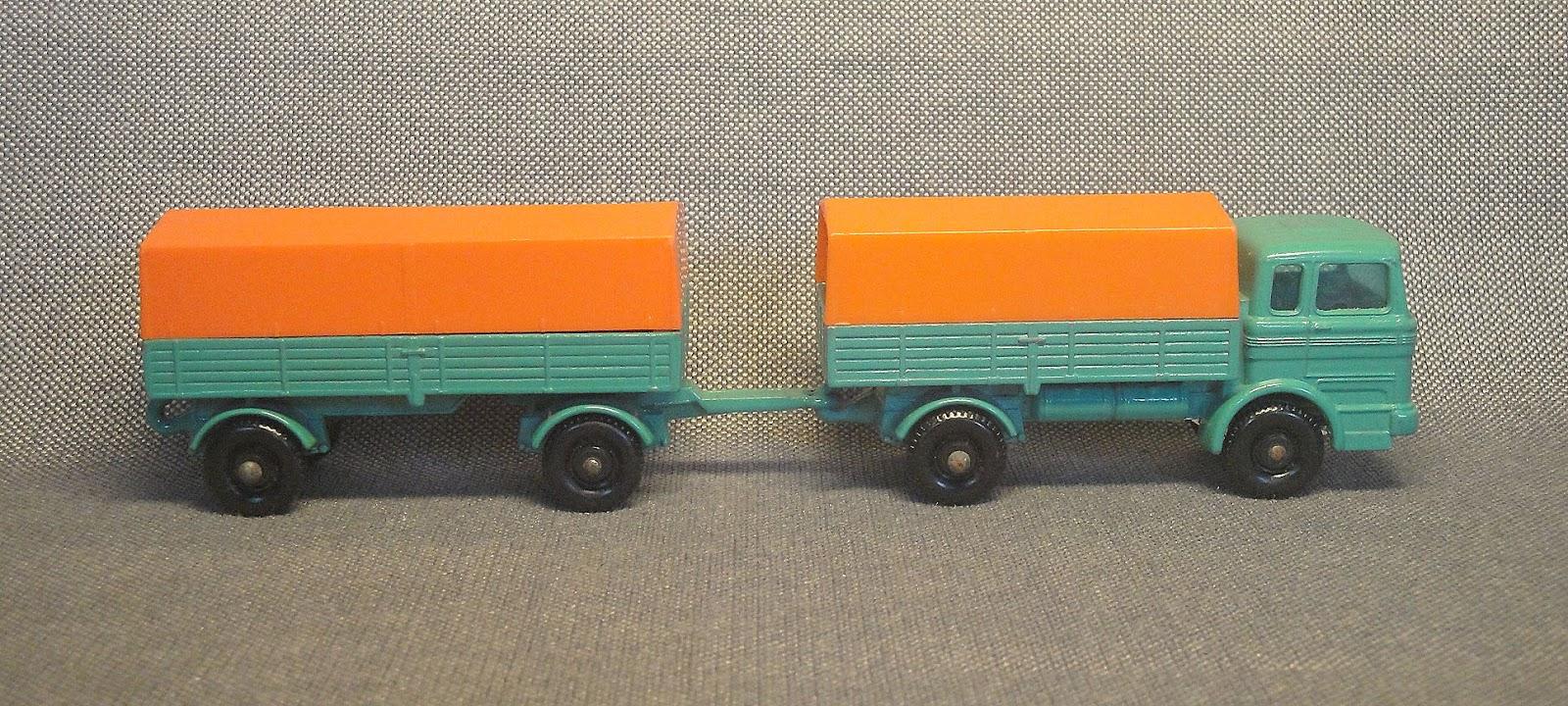 Archivo de autos: Camión y acoplado de Matchbox