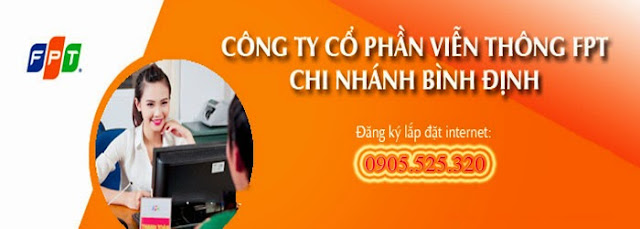 Lắp đặt internet fpt phường Thị Nại
