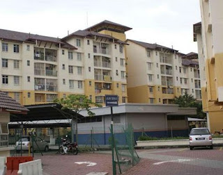 Flat bayu, bukit tinggi klang near hospital HTAR for SALE