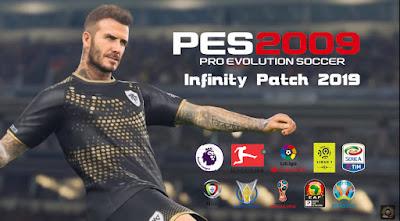 PES 2009 Infinity Patch 2019 Season 2018/2019