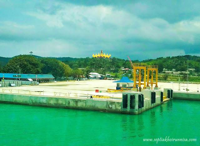 dermaga baru ASDP Indonesia Ferry