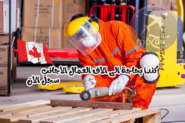 مطلوب اكثر من 230 الف عامل اجنبي في كندا للعمل في كندا – سجل لان
