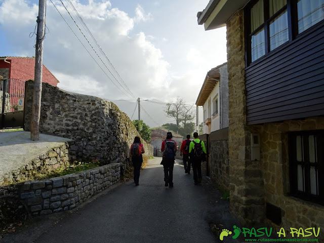 Entrando en la Isla, Colunga