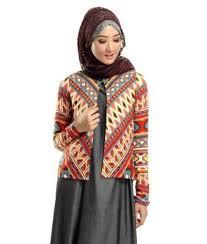 Model Baju Blazer Batik Remaja Muslimah Terbaru