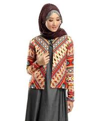 Model Baju Blazer Muslim Modern Terbaru
