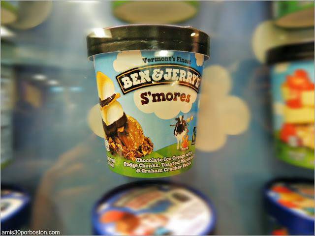 Contenedores de los Helados de Ben & Jerry's