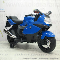 Pliko PK5100 BMW K1300S Rechargeable-battery Operated Toy Car