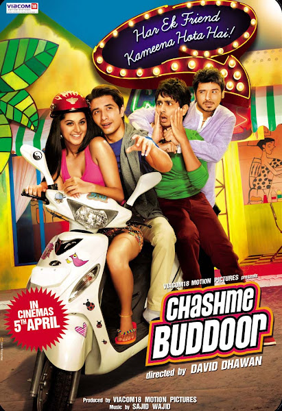 Poster of Chashme Baddoor 2013 Full Hindi Movie 720p BluRay With ESubs Download