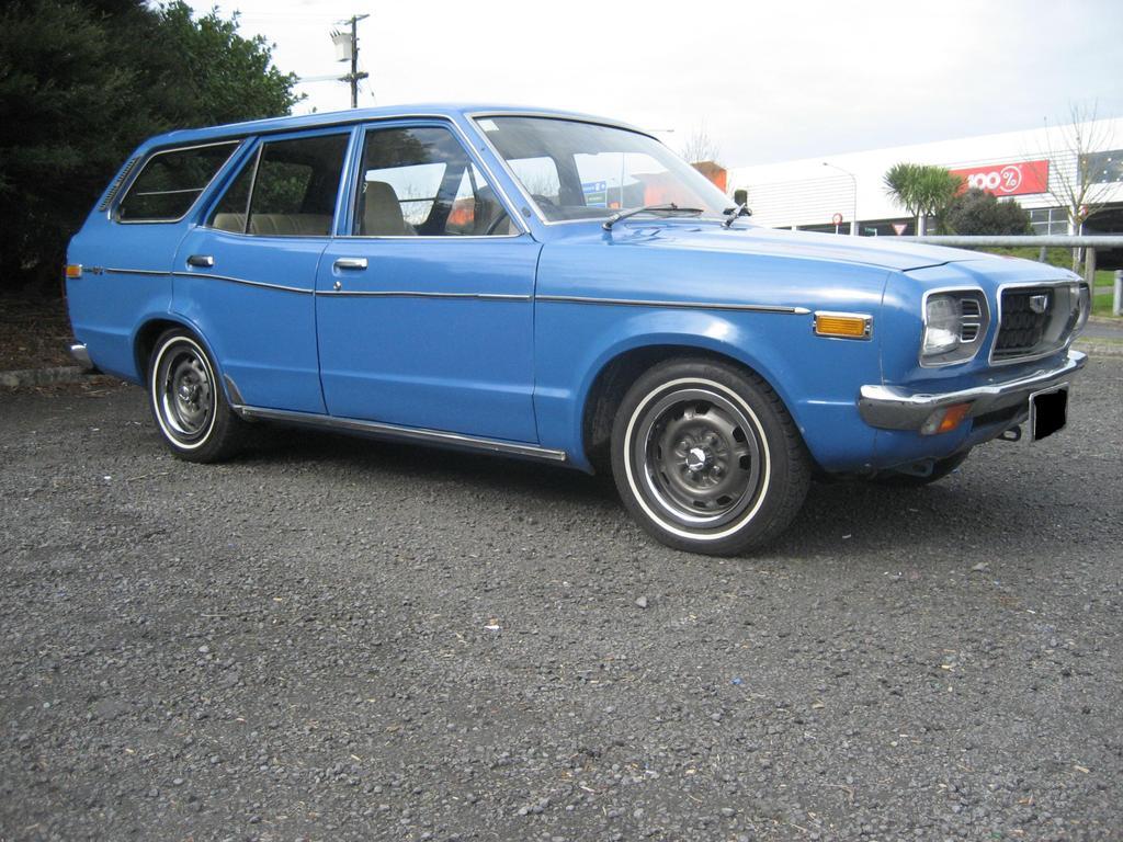 Avengers in Time 1971 Cars Mazda Grand Familia 808