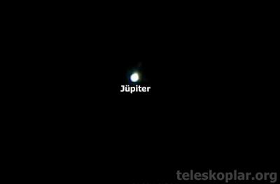 50az ile Jüpiter gözlemi
