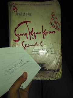 Review #1 - Sungkyunkwan Scandal 1, Jung Eun Gwol.