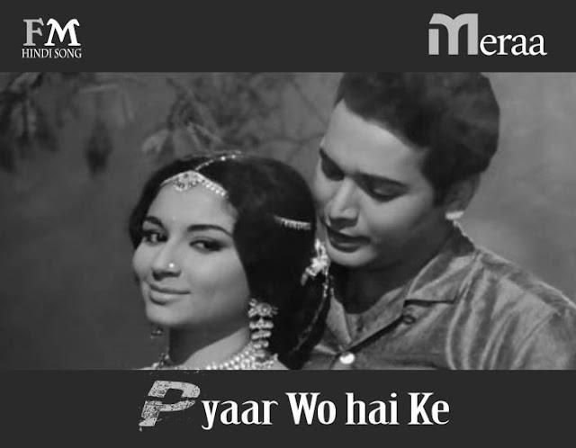 Meraa-Pyaar-Wo-hai-Ke-Marakar-Ye-Raat-Phir-Na-Aayegi-(1966)