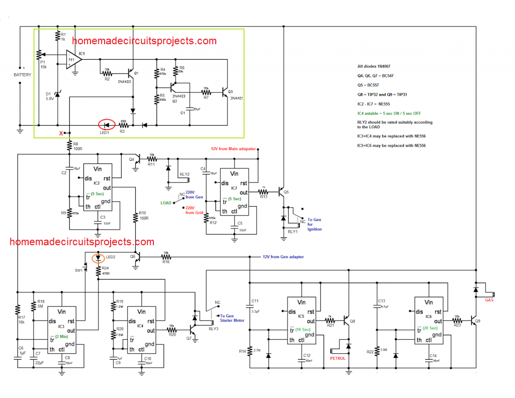Mini Ats Diagram Simple Wiring Backup Generator Todays Standby