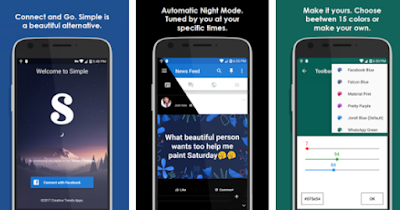 Download Simple for Facebook Pro Patched Apk Terbaru