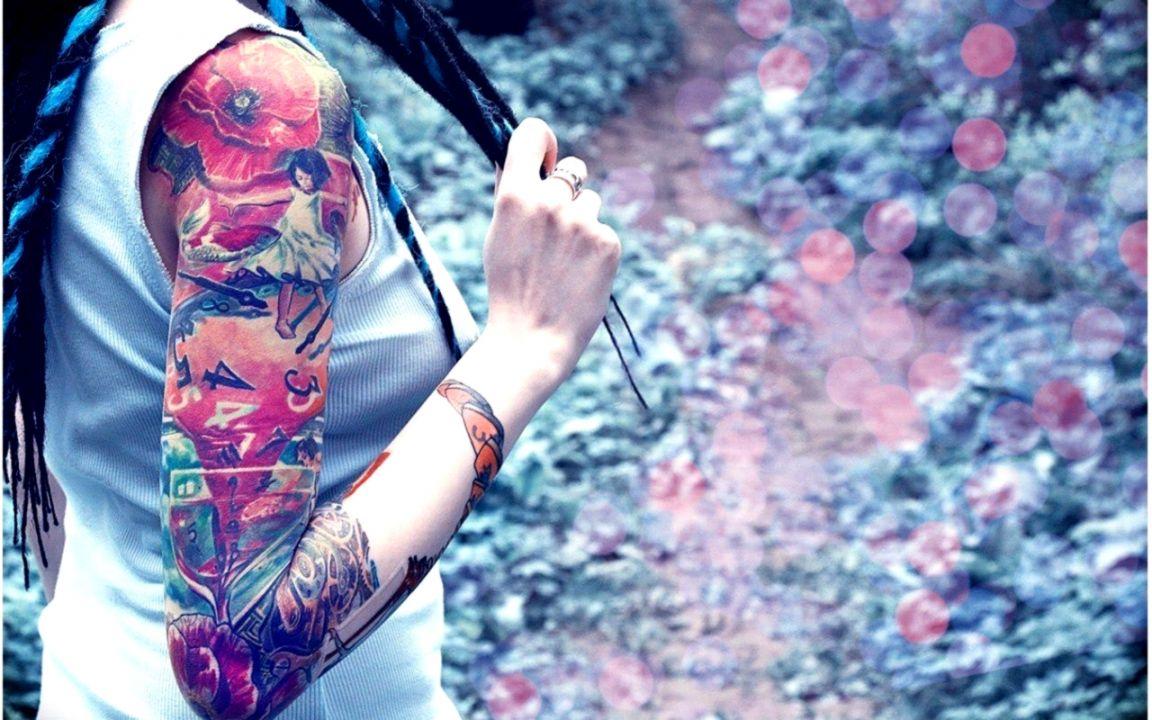 ab0f93d2f7a5e Tattoo Girls Art Wallpaper | Wallpapers New