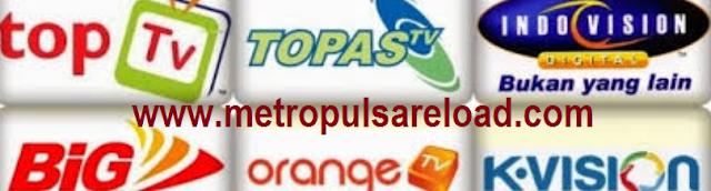Cara Transaksi Voucher TV Prabayar Metro Reload