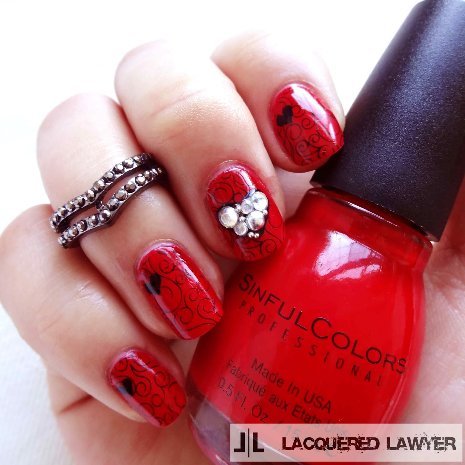Lacquered Lawyer Nail Art Blog Sinfully Sweet