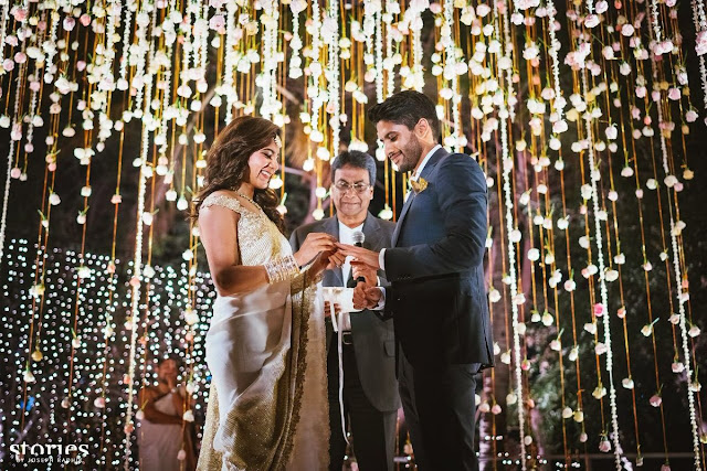 MEMORABLE EVENT IN AKKINENI FAMILY - AKKINENI NAGA CHITANYA - SAMANTHA RUTH PRABHU GOT ENGAGED SEE THE PICTURES - TOLLYWOOD NEWS -