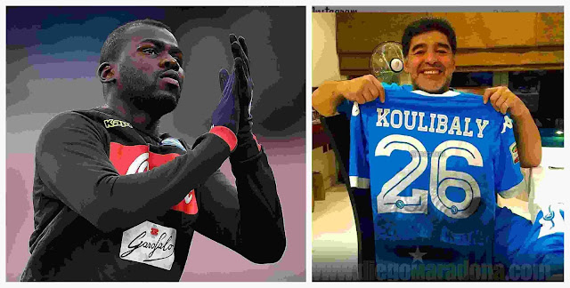 """""""I Also Suffered The Racist Songs"""" - Diego Maradona Pays Tribute To Kalidou Koulibaly"""