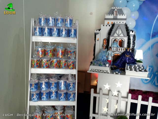 Decoração de festa tema Cinderela