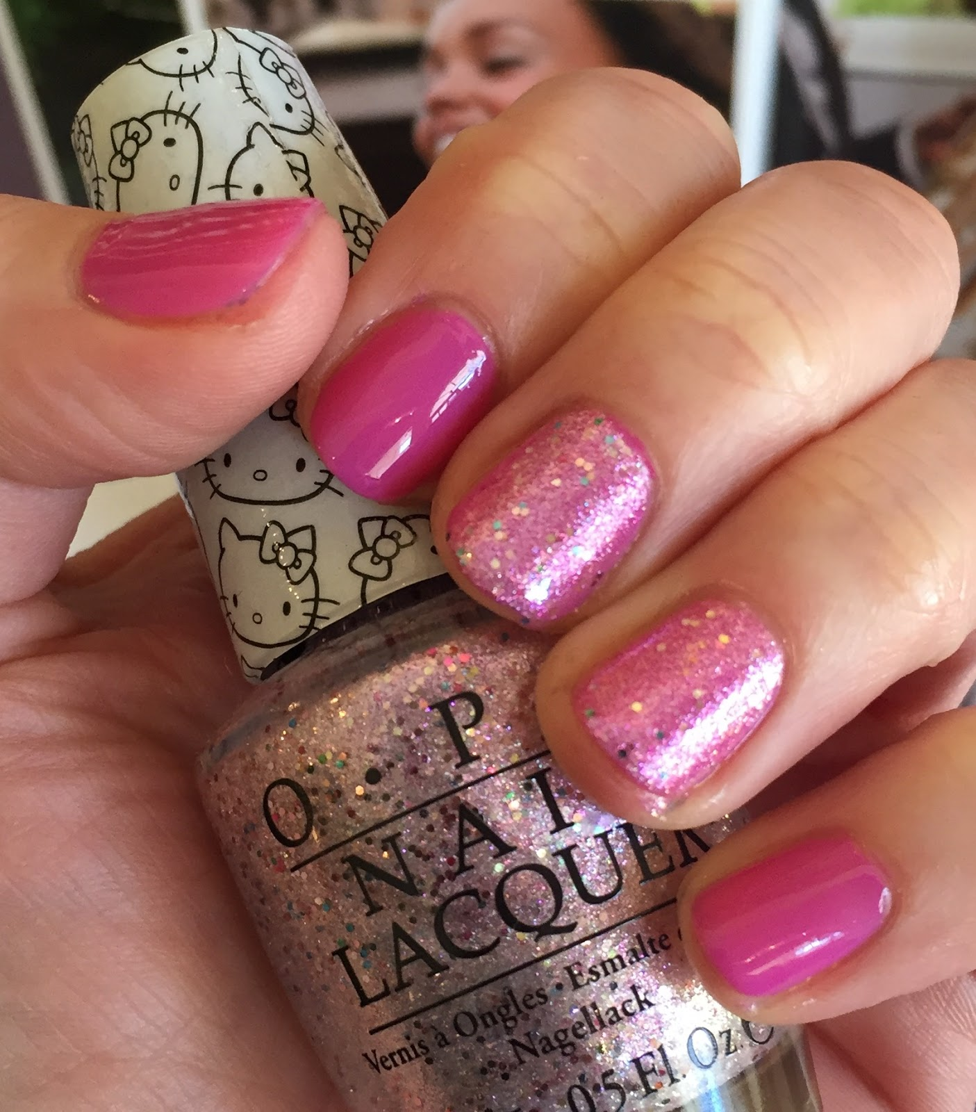 Opi nail polish pink collection are