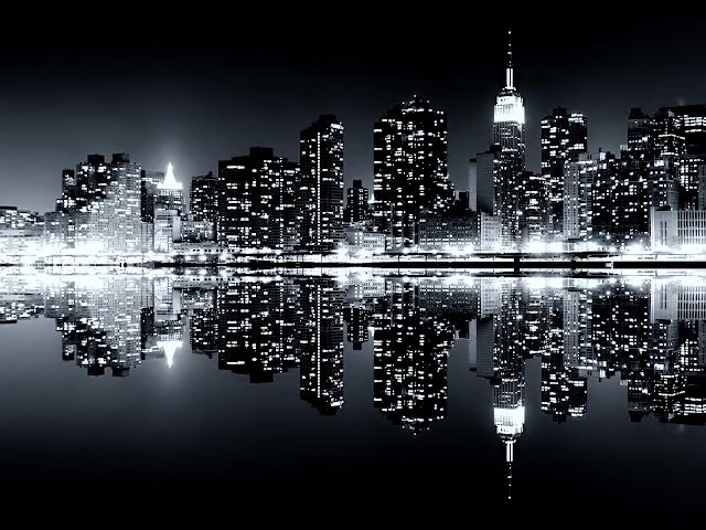 Night Skyline Wallpaper