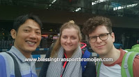 Alex and Laura (UK), transport from Surabaya Airport to Mount Bromo. Dec 4th to 5th, 2016.