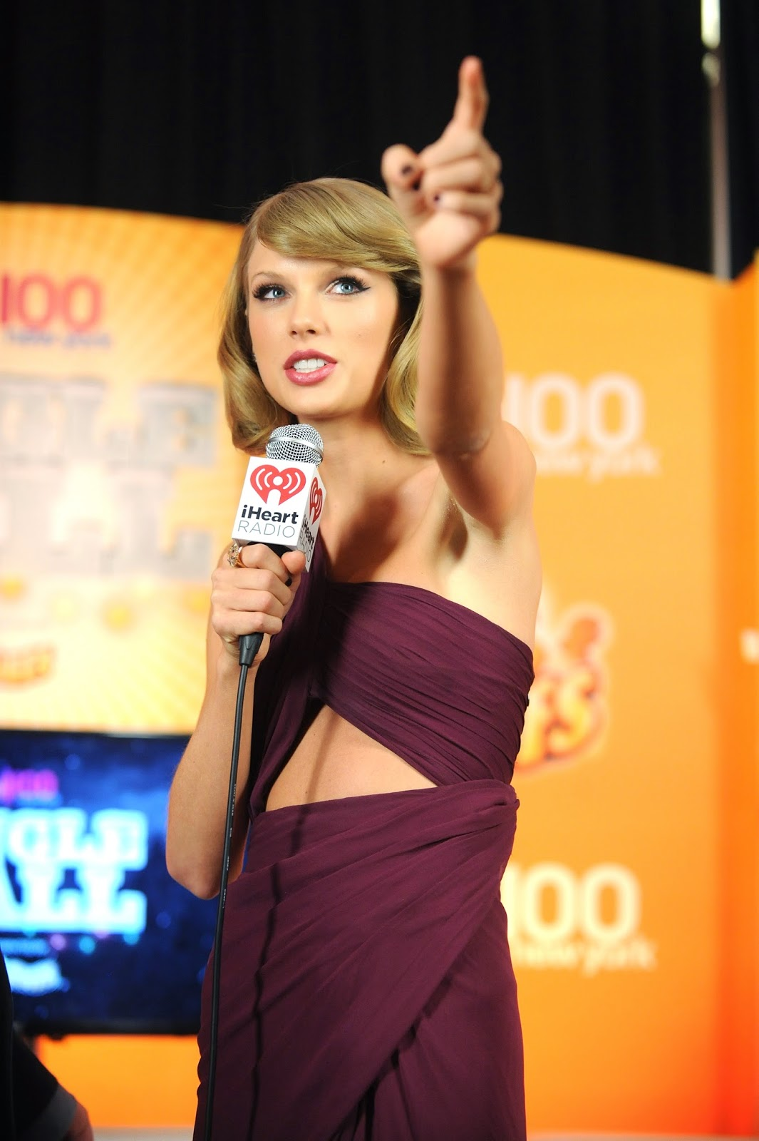 Taylor Swift Wears Braless See-Through Dress To The Z100s Jingle Ball 2014 | Gutter Uncensored