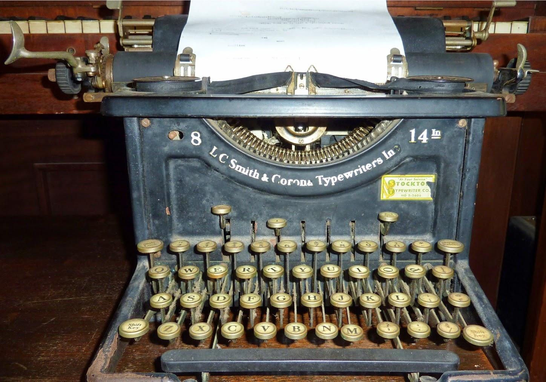 Serial number lookup typewriter History of