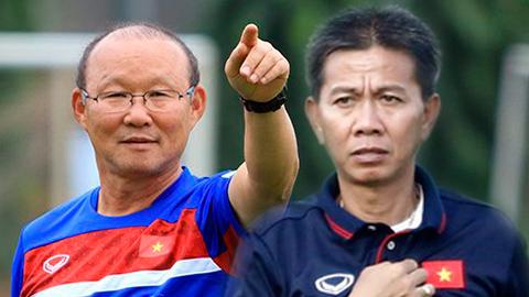 Thầy Park và HLV Hoàng Anh Tuấn ngắm giò sao trẻ U19