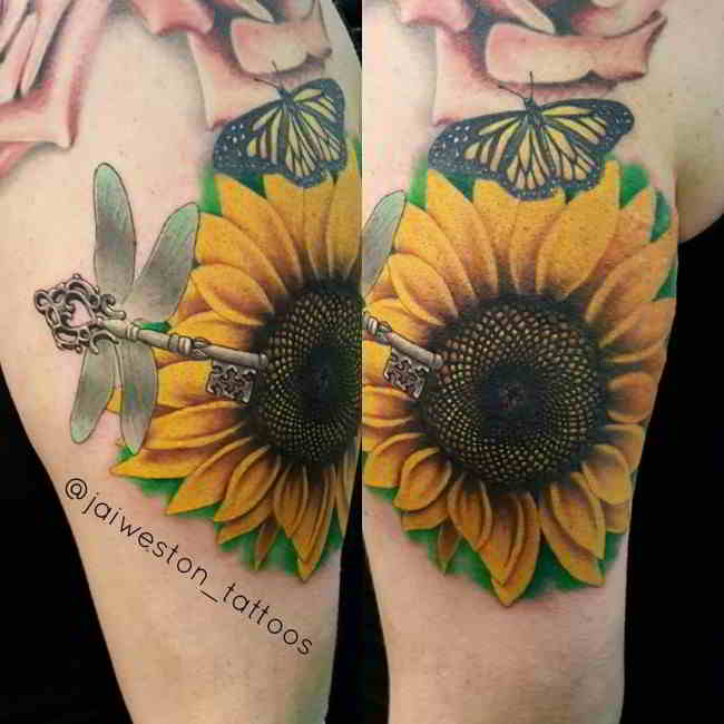 Girassol Tatuajes T Tatuajes Pequeos Tatuajes Y
