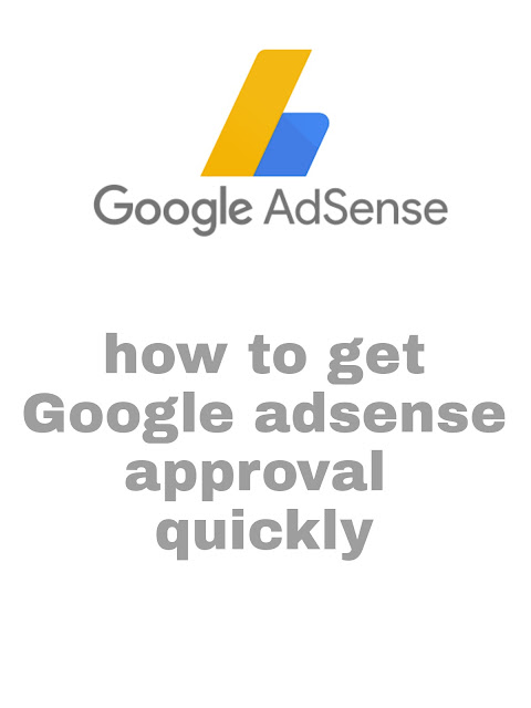 How to get Adsense approval for website|get the fastest Adsense aproval