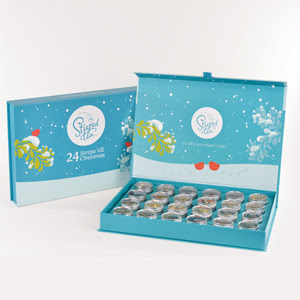 24 Steeps 'till Christmas Advent Calendar is the ultimate collection of tea samples