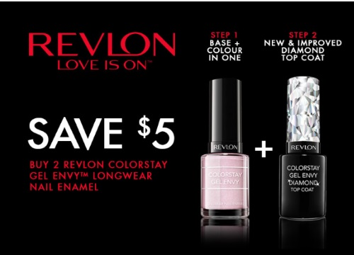 Revlon Nail Polish $5 Off Coupon