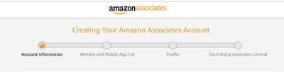 Amazon Affiliate Account Information