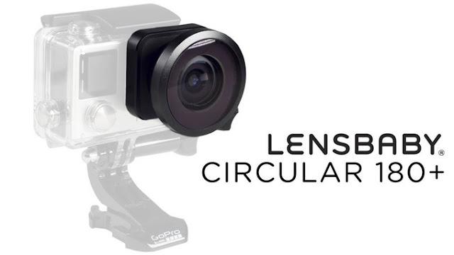 Lensbaby's Circular 180+ gopro
