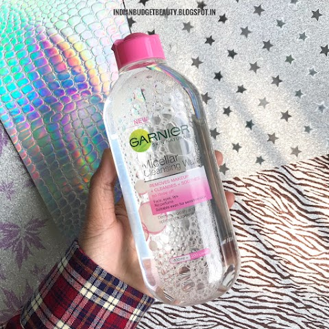 Garnier Skin Naturals Micellar Cleansing Water | Review and Swatches
