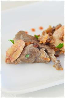 Receta ku-bak tres delicias (un plato chino de arroz inflado)-ku-bak- arroz kubak- receta de arroz estilo ku bak-