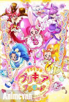 Kirakira☆Precure A La Mode -  2017 Poster