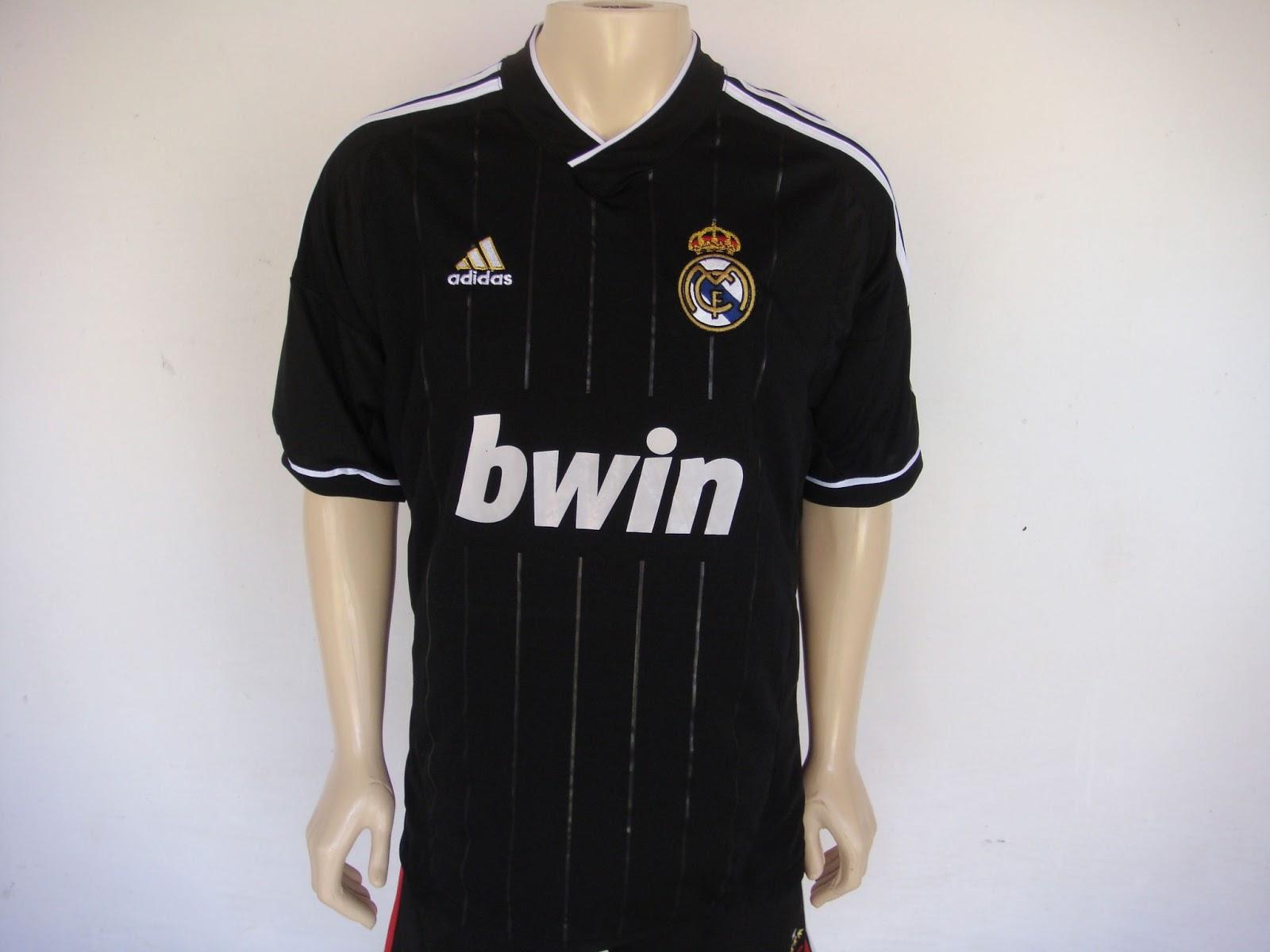 Loja AED: Camisa Clube Real Madrid Preta