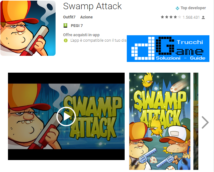 Trucchi Swamp Attack Mod Apk Android v2.1.5