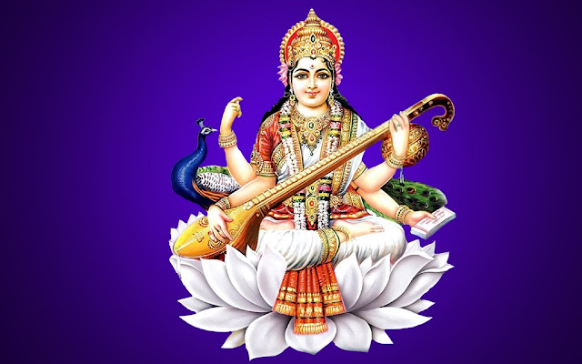 lord-saraswati-wallpaper
