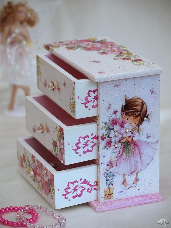 Curso gratis aprende c mo decorar cajas de madera con - Decorar cajas de madera manualidades ...