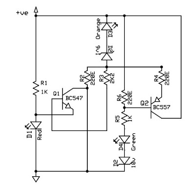 12V BATTERY CHECKER CIRCUIT