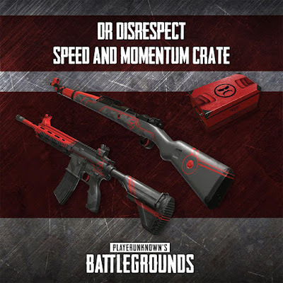 Shroud and Dr Disrespect Weapon Skins